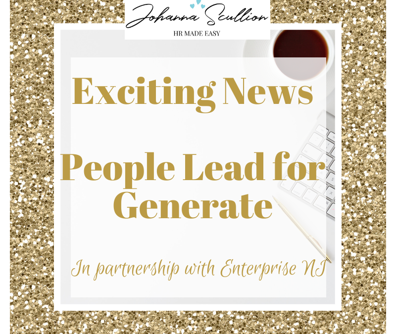 Exciting News – People Lead for Generate