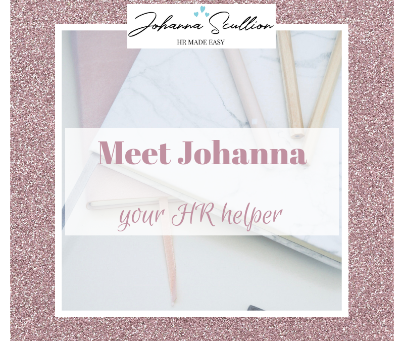 Meet Johanna – Your HR Helper