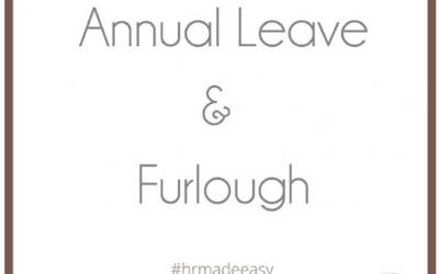 Annual Leave & Furlough