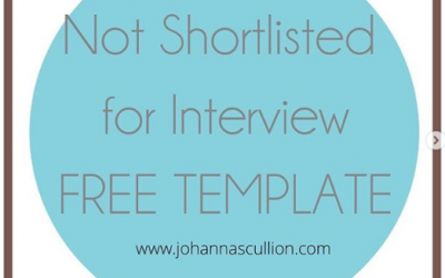 FREE TEMPLATE: Not Shortlisted For Interview