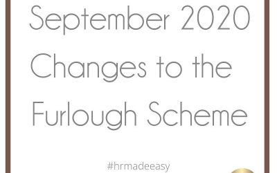 September Changes to the Furlough Scheme