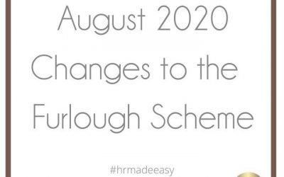 August Changes to the Furlough Scheme