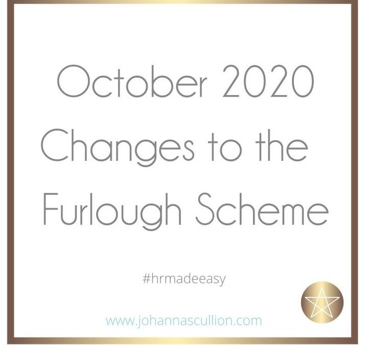 October Changes to the Furlough Scheme